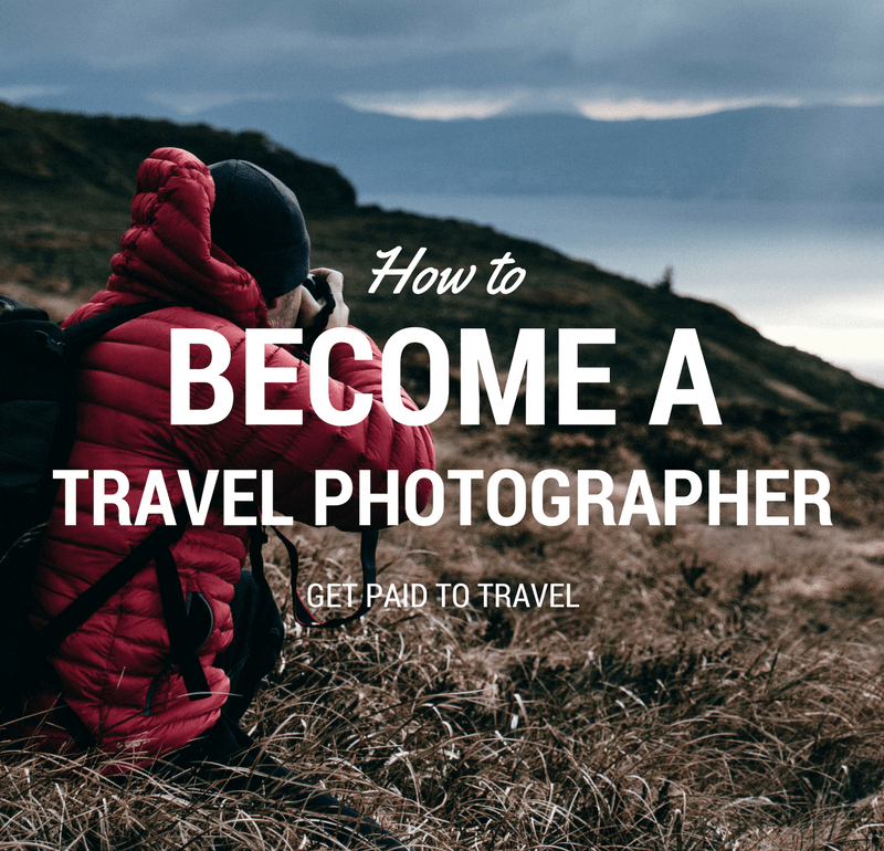 To a photographer how become travel